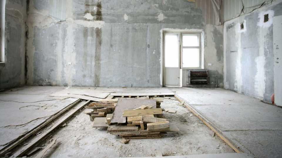 Ремонт старой жилой квартиры