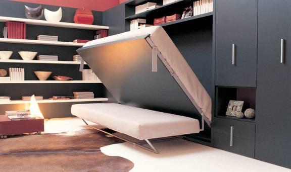 Трансформирующаяся мебель для однокомнатной квартиры