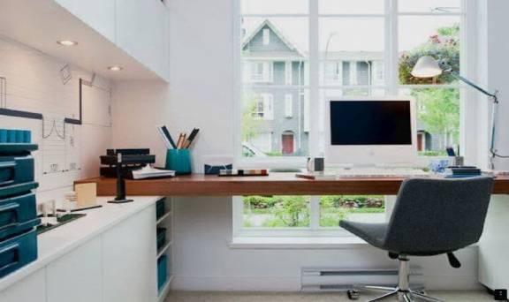 Офис на кухне