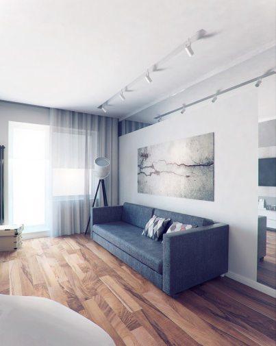 Ремонт однокомнатной квартиры студии