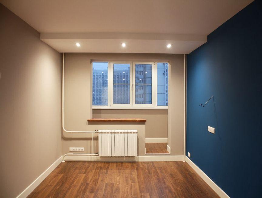 Ремонт комнаты под ключ с материалами