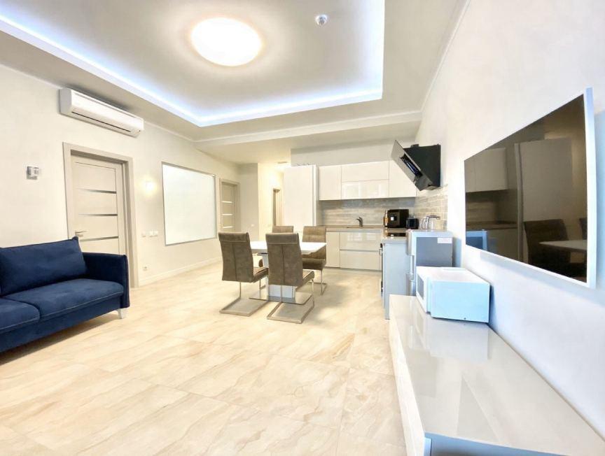 Элитный ремонт четырехкомнатной квартиры