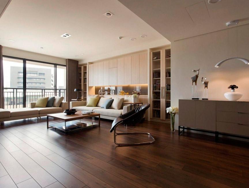 Дизайн-проект квартиры с высокими потолками