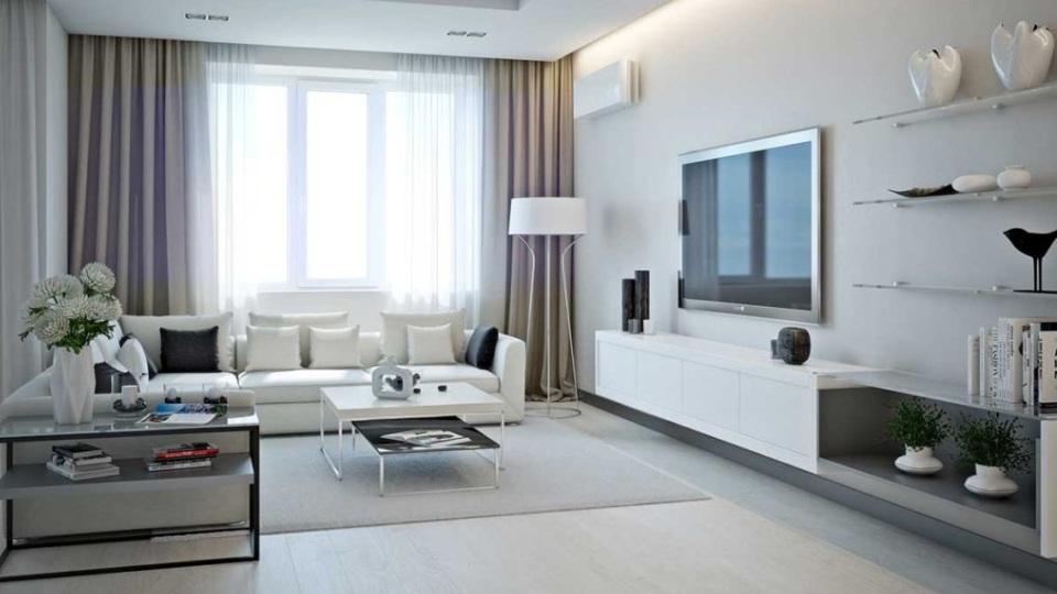 Евроремонт светлой квартиры