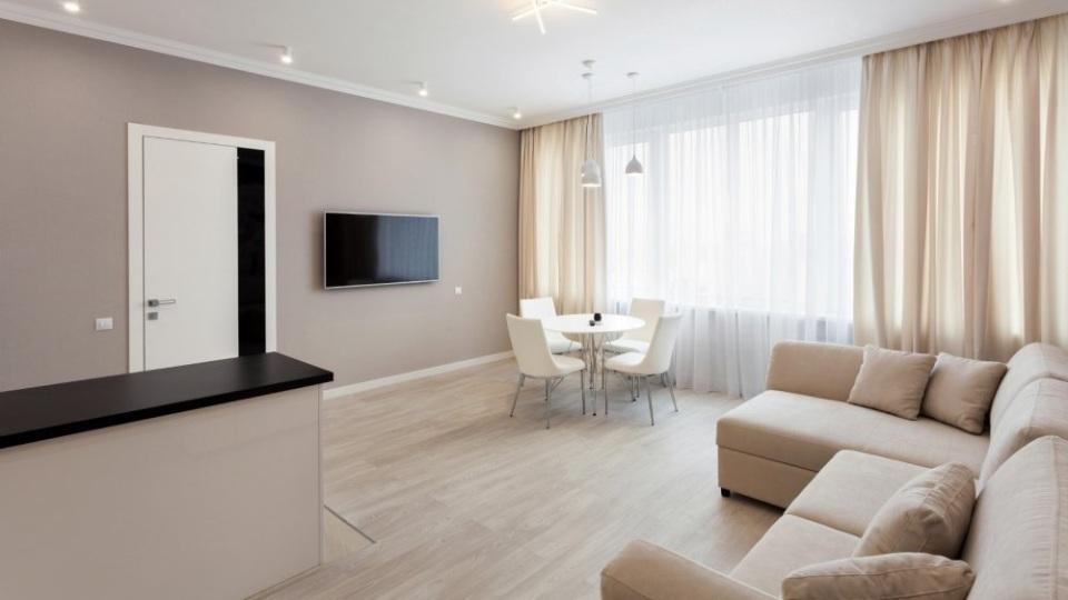 Евроремонт квартиры в белом цвете