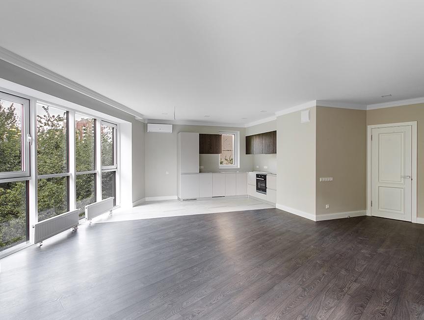 Капитальный ремонт квартиры свободной планировки