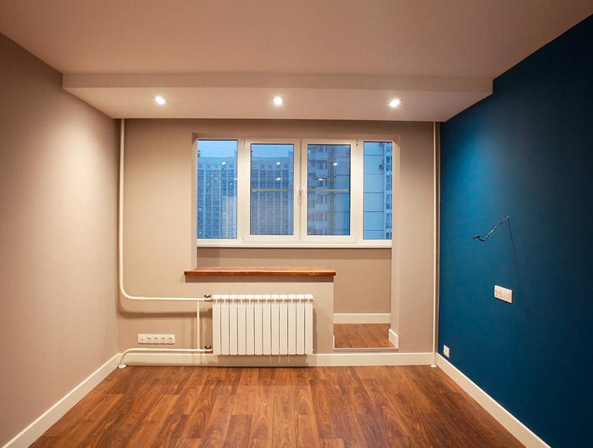 Косметический ремонт с покраской стен